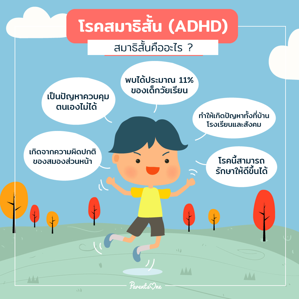 Solve ADHD problems Can do something